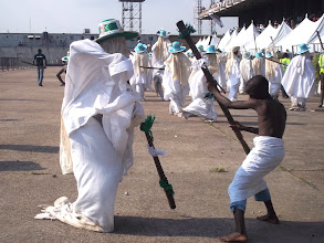 Photo: Eyo Iga Opeluwa on parade
