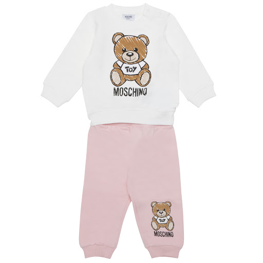 Primary image of Moschino Sweatshirt & Joggers Set