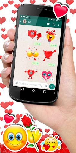 💕😍 WAStickerApps love stickers for whatsapp screenshot 3