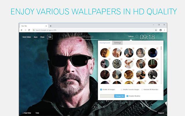 Terminator Dark Fate Wallpaper Custom New Tab