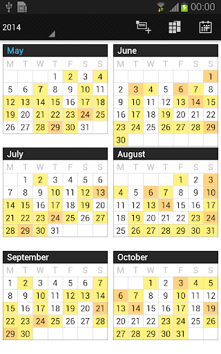 Business Calendar Beta screenshot 5