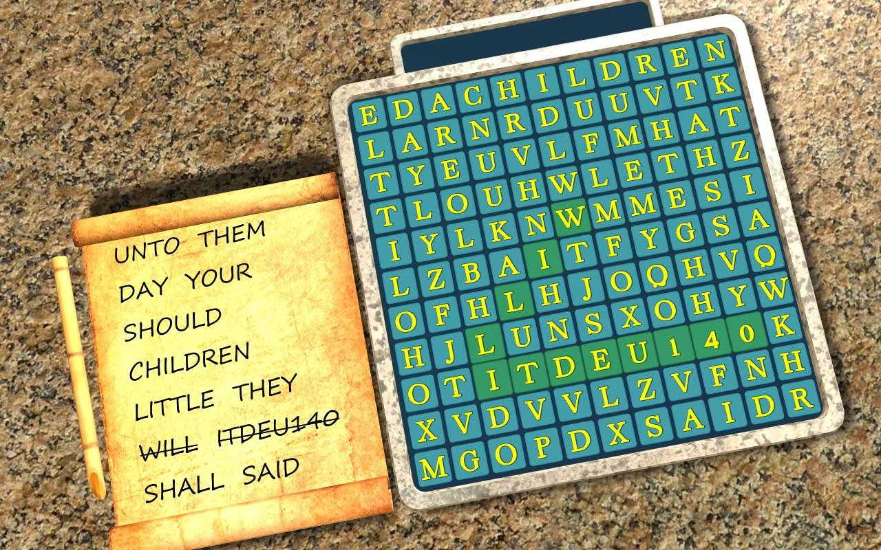 Bible Story Wordsearch Vol 5- screenshot