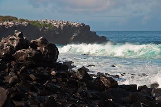 Photo: Coast of Espanola Island