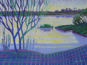 Photo: Brannan Island, pastel by Nancy Roberts, copyright 2014. Private collection.