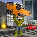 Monster Hero Battle City - Robot Fighting icon
