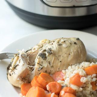 Instant Pot Chicken Carrots Brown Rice Dinner Recipe