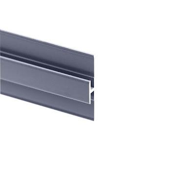 Profilé d'extension pour panneau mural DécoDesign, alu-argenté