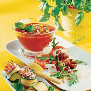 Toskanischer Pilzsalat mit Prosciutto