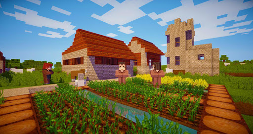 Block Craft - Crafting and Building Game CraftedBuilding screenshots 1