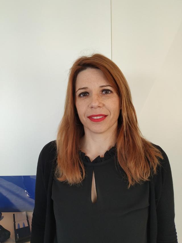La presidenta de la Mancomunidad, Ángeles Castillo.