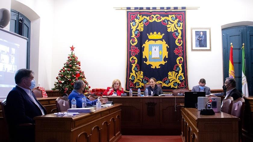 Imagen del Pleno de Níjar.