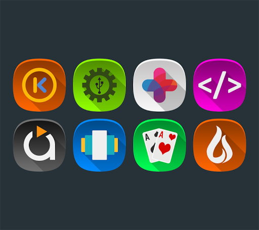 Annabelle UI - Icon Pack Apps for Android screenshot