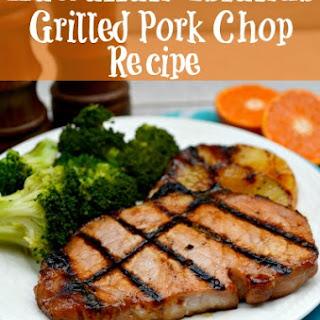 Hawaiian Islands Grilled Pork Chop.