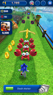 Sonic Dash (MOD, Unlimited Money) APK for Andro 1
