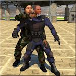 Commando Assassin Elite Spy 3D Icon