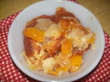 Kay's Easy Peach Cobbler