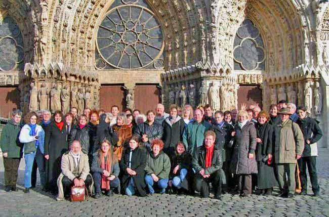 Photo: A-cappella Konzerte  Reims/FR / 03./04.12.2005
