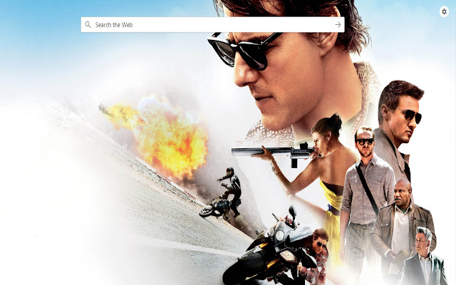 Movie Search and HD Wallpapers - New Tab