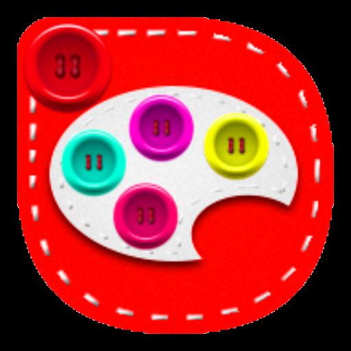 buttons go Launcher theme