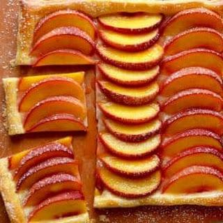 5-Ingredient Peach Tart.