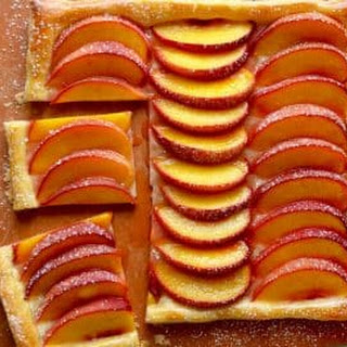 5-Ingredient Peach Tart.