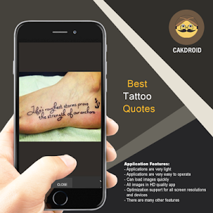 Best Tattoo Quotes - náhled