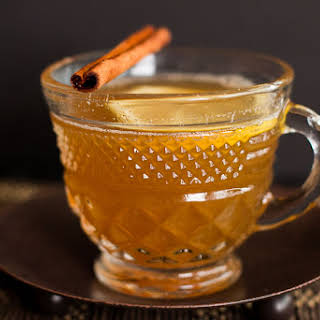 Spiced Chamomile Ginger Hot Toddy.