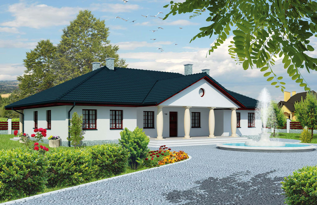 Projekt domu Ełk (THT-442) - 203.3m²