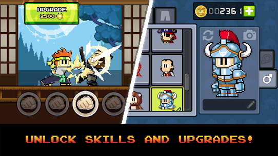 Dan the Man: Action Platformer Mod 1.2.93 Apk [Infinite Money] 1