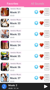 Aerobic Music- screenshot thumbnail