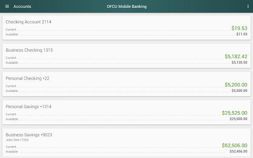 OFCU Mobile Banking screenshot 11