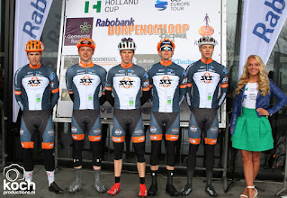 Photo: 11-03-2018: Wielrennen: Dorpenomloop: RucphenTeam Sauerland met Julius Domnick, Michel Giesselmann, Jon Knolle, Viktor Muller, Louis Leinau