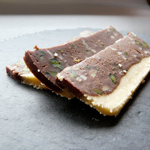 Chocolate, Almond and Pistachio Sweets