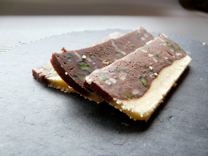 Chocolate, Almond and Pistachio Sweets Recipe