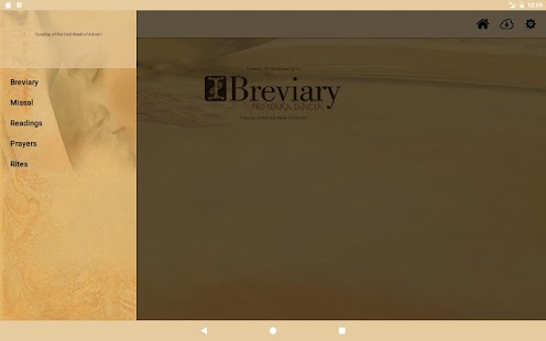 iBreviary- screenshot thumbnail