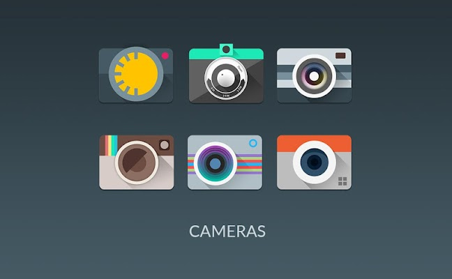 MATERIALISTIK Icon Pack - tela capturada