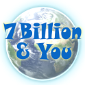 7 Billion and You in the world icon