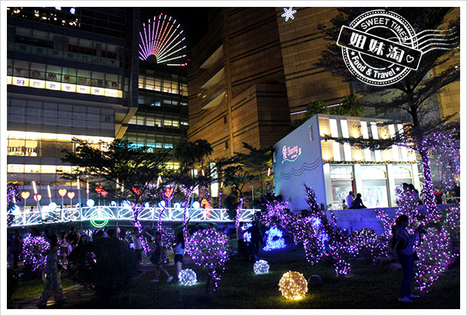 2016夢時代愛Sharing聖誕節LED造景公園3
