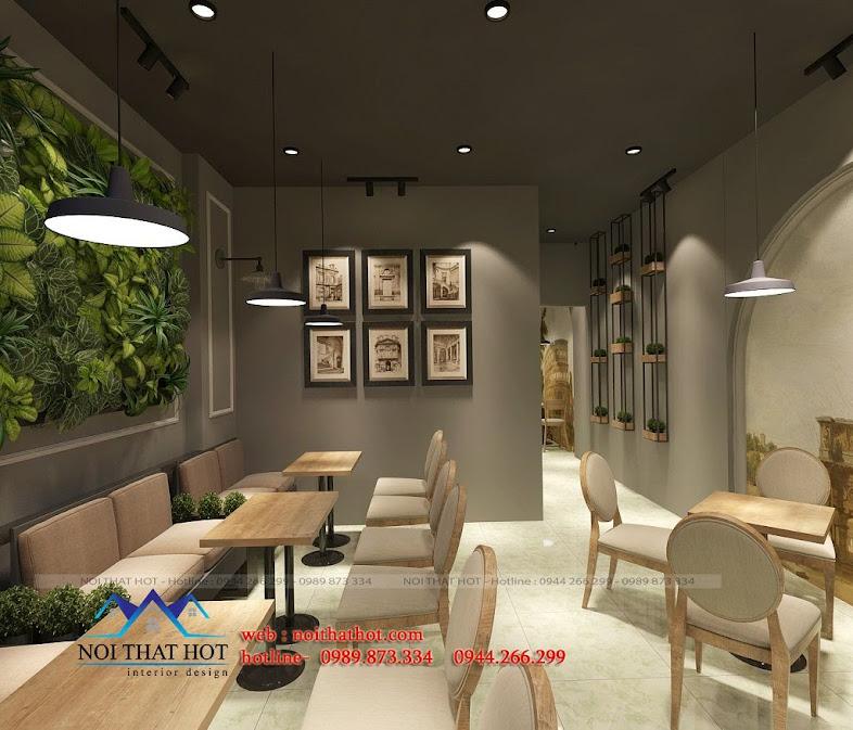 thiết kế quán cafe đặc biệt