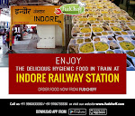 Food In Train at Indore Junction - FudCheff
