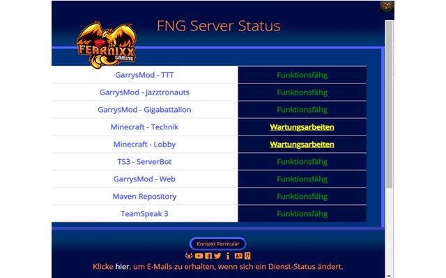 FNG Server Status Plugin