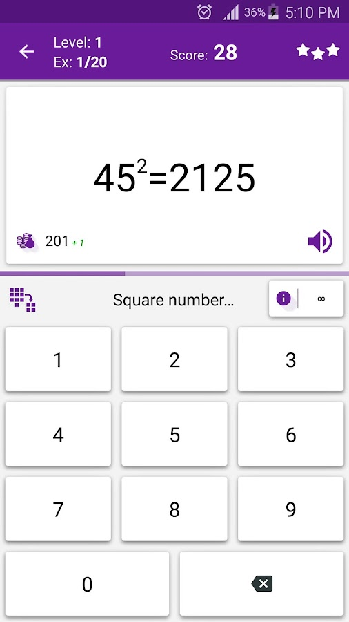 Screenshots of Math Tricks for iPhone