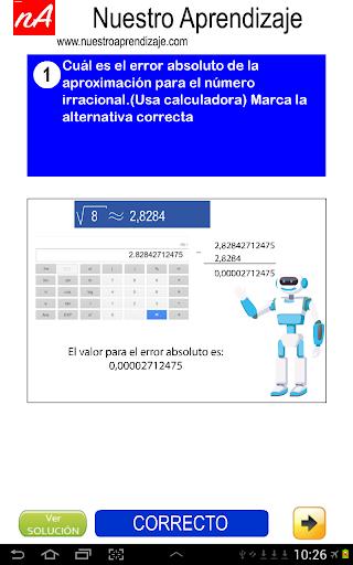 Nu00fameros Irracionales Aproximar 1.0.0 screenshots 5