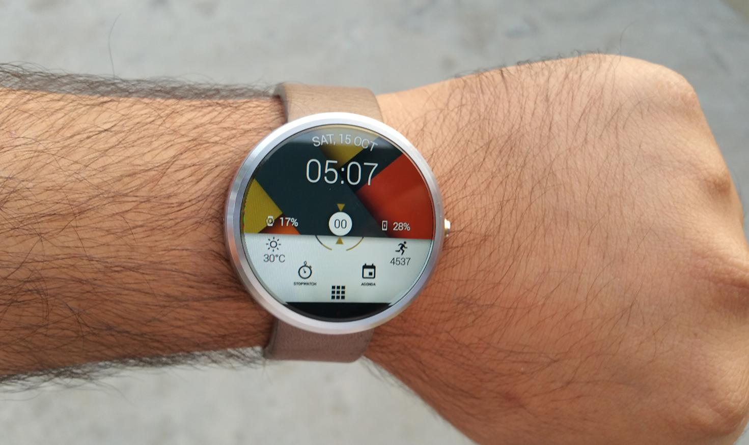 Watch Face - Material Interactive- screenshot