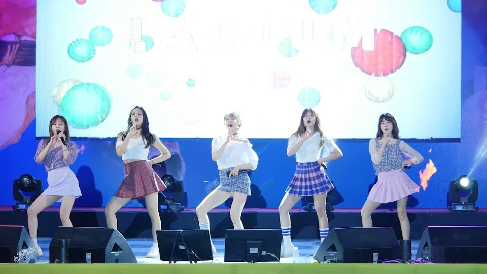 korean music festival 2018 LABOUM