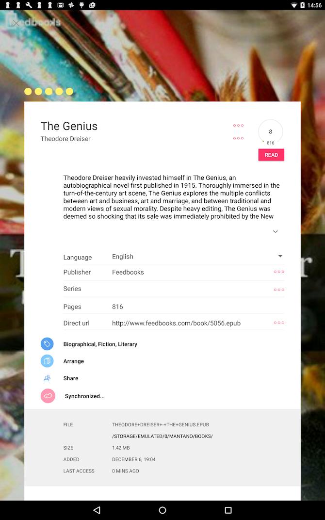 Bookari Ebook Reader Premium Android 11