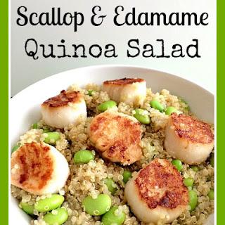 Scallop & Edamame Quinoa Salad