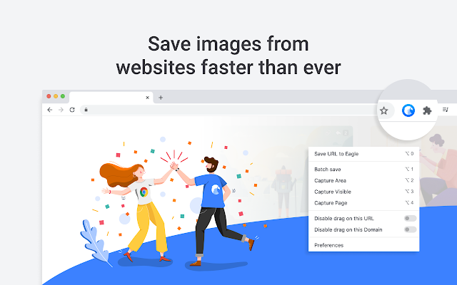 Eagle - Save images faster than ever