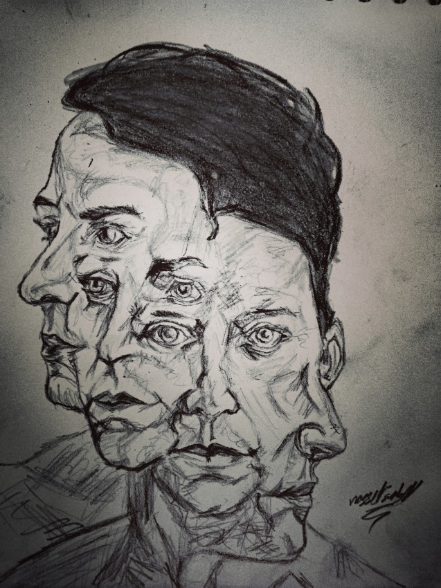 Schizophrenia art
