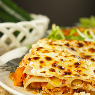 Low Fat Vegetarian Lasagna